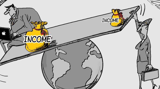 Income enequality